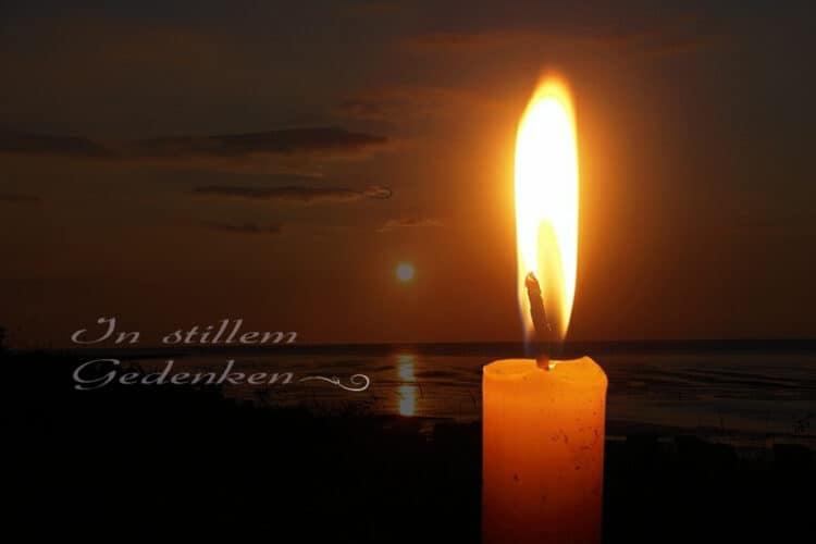 Wir sind tief betroffen und trauern um unseren Vereinskameraden Wolfgang Taube